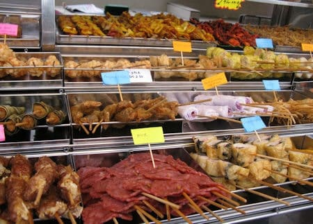 How to know which satay to choose from?