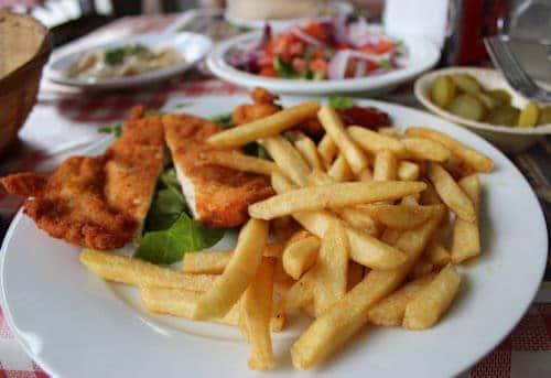 Israeli schnitzel