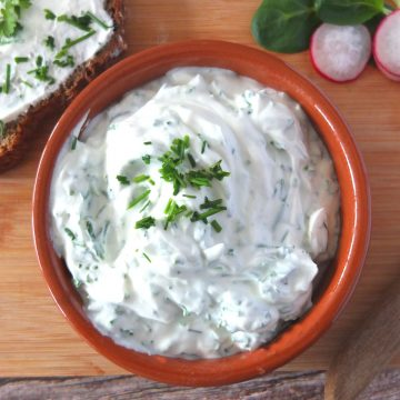 Quark Dip in a bowl