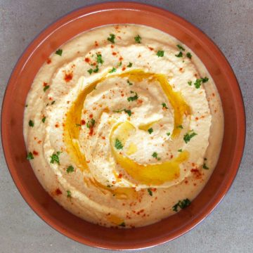 hummus from canned chickpeas