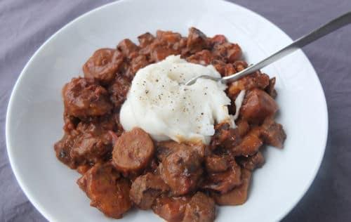 Rwandan Beef Stew