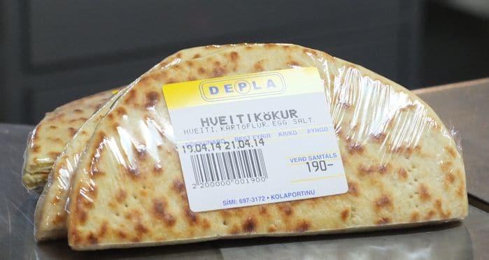 Icelandic Potatoe Bread