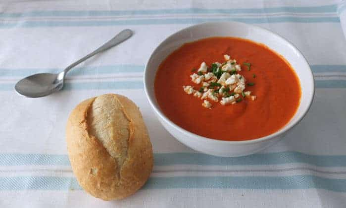 German Red Pepper Soup