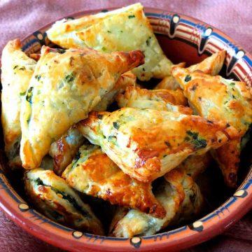 Spinach Feta Parcels