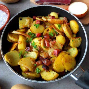 German Bratkartoffeln