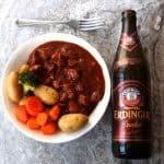 German Pork and Beef Beer Goulash