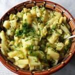 Potato Salad with Apple
