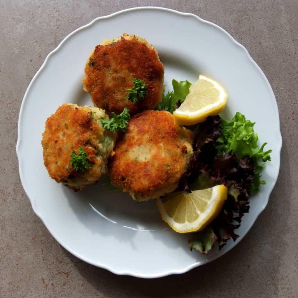 German Fish cakes no potato