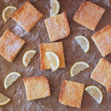 Easy Lemon Shortbread Bars