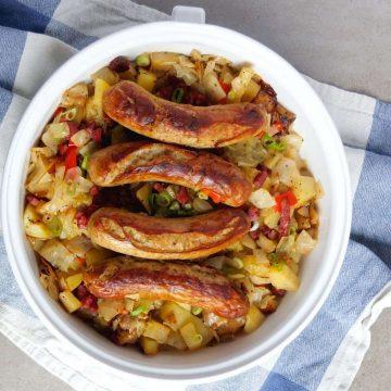 German Bratwurst Casserole