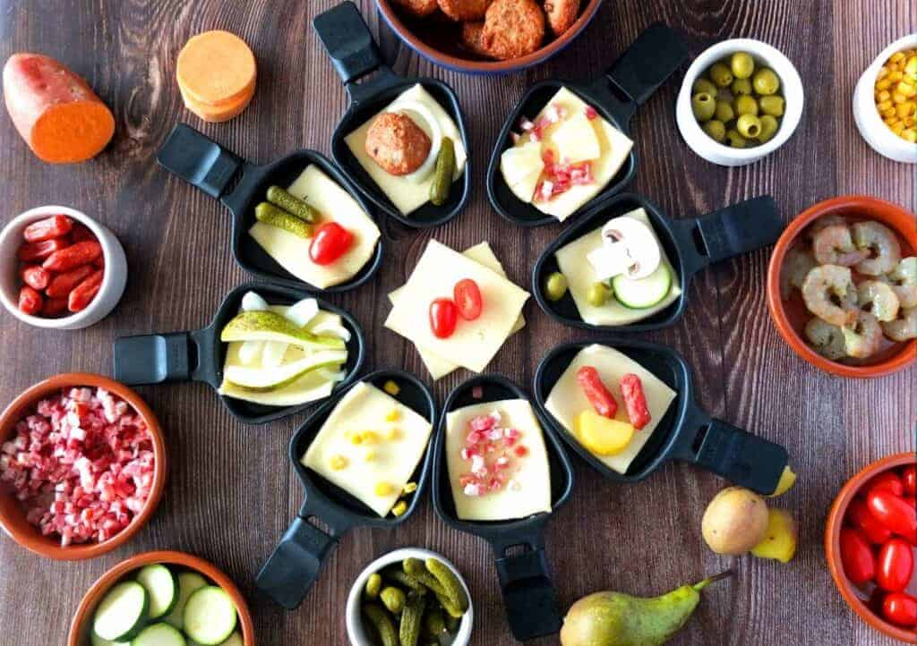 Raclette Ideas for the perfect Dinner party