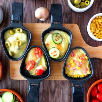 Raclette Recipe Ideas and Ingredients