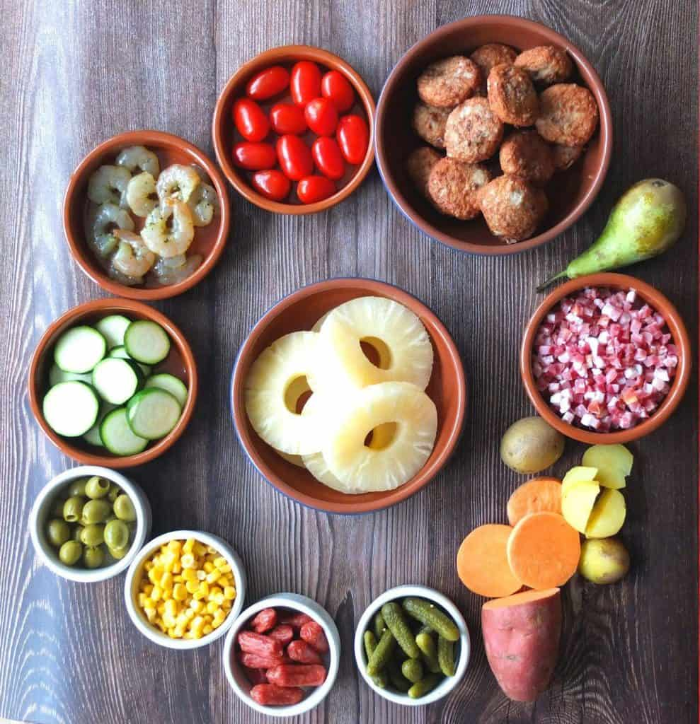 raclette ingredient suggestions