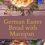 German Mazipan Bread